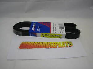 2004-2012 COLORADO CANYON 2006-2010 HUMMER H3 SERPENTINE BELT EXC. 5.3  12611636