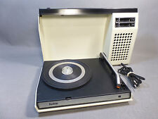 RADIOLA 423/1970'S SUITCASE TYPE PORTABLE VINTAGE RECORD PLAYER/ELECTROPHONE
