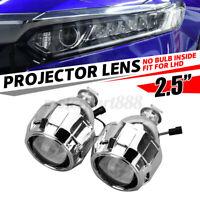 2 Pz 2,5'' H1 H7 H4 Fari Xeno Bixenon Proiettore Projector Lenticolare