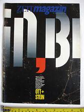 ZEIT magazine: 22/09/1989.(German) Berlin Graphic:Ott & Stein.Bernhard Heisig.
