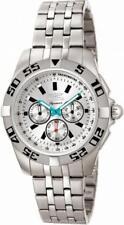 Invicta Signature II 7302 Men's Round Chronograph Analog Silver Tone Watch