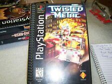 "playstation ""twisted metal"",1995,LOOK!atari,mint!"