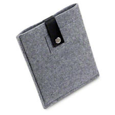 Handmade Wool Felt Carry Case Sleeve Pouch for Amazon Kindle Fire HD 7 Grey