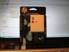 HP 11 - GENUINE - Magenta Ink Cartridge - C4837A - 1750 Page - NEW