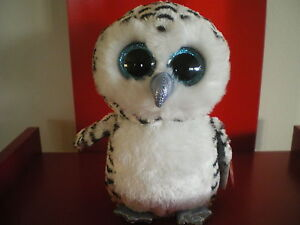 Ty Beanie Boos LUCY the owl 6 inch NWMT. Justice Exclusive.LIMITED QUANTITY.