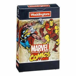 Waddingtons Marvel Comics Number 1 Retro Playing Cards * FAST UK DISPATCH *