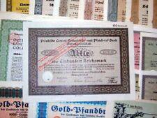 321 verschiedene Banken HWPs deko 1923-1944, 2 kg
