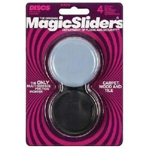 "Magic Sliders 4 Pack 2-3/8"" Round Concave Sliding Disks"
