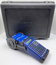 Brady 42001 Lcd Handimark Portable Label Maker Printer Complete