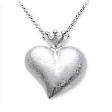 Herz mit Krone Anhänger ohne Kette Heartbreaker Drachenfels LD LP 32 II Silber