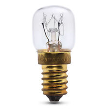 15W SES E14 OVEN BULB LAMP LIGHT BULB 300 DEGREE X1 SMALL SCREW