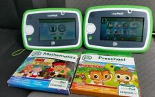LEAP FROG LEAP PAD 3 KIDS LEARNING TABLET doble green + GAMES