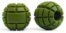 Grenade Grips - Unique Fat Bar Dumbell/Barbell Grips For Huge Size Gains Expl...