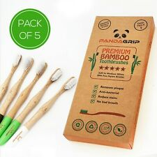 bamboo toothbrushes natural wooden biodegradable Eco-friendly soft / medium
