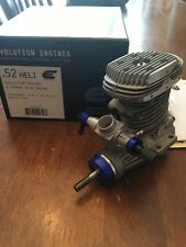 EVOLUTION ENGINES .52 Heli 2-Stroke Glow Nitro RC Engine w/o Muffler EVOE0520H
