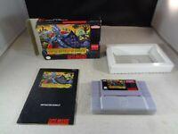 Super Ghouls 'n Ghosts (Super Nintendo SNES, 1991) - w/ Manual - Tested/Working