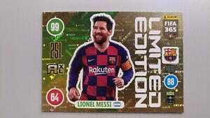 LIONEL MESSI Limited Edition FIFA 365 PANINI 20/21 FC BARCELONA