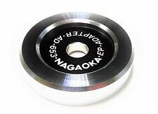 Nagaoka EP Aluminum 45 RPM Adapter Phonograph Turntable LP Vinyl Records AD-653