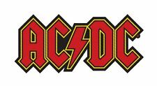 AC/DC Logo Cut-Out Woven Patch