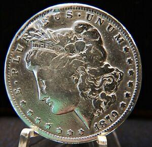 CARSON CITY 1879--CC  MORGAN SILVER Dollar