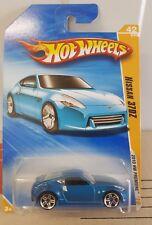 Hotwheels 2010 - Nissan 370Z - Blue