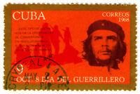 Ernesto Che Guevara 1968 Postal Stamp Art Print Poster 18x12 inch
