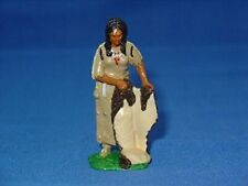 MKL Models Native American Woman Holding Deer Skin IND13
