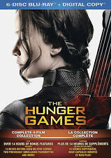 The Hunger Games Collection (Blu-ray Disc, 2016) Brand New Free Shipping