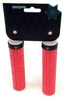 SUPACAZ Grizips Lock-On Mountain Bike Grips Hot Pink/Black