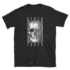 Otras caras Cráneo Motociclista Motocicleta Motor espíritus Harley Regalo Unisex Camiseta 035