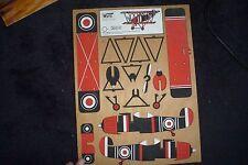 Wutd wuto KIT MODELLO legno 4010 6 AEREO prima guerra mondiale aereo britannico SPAGNOLO?