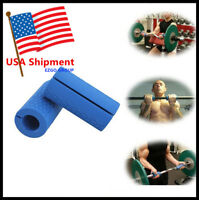 Thick Bar Grips Turns Barbell, Dumbbell, and Kettlebell Fat Bar Training Muscle