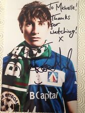 TOM ROSENTHAL - Signed 7x5 Photograph - TV - FRIDAY NIGHT DINER