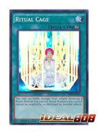 YUGIOH x 3 Ritual Cage - THSF-EN055 - Super Rare - 1st Edition Near Mint