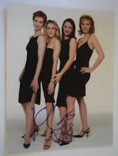 Kristin Davis & Kim Cattrall Signed 11x14 Photo SEX AND THE CITY COA VD