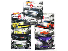 Hot Wheels Set of 5 Cars Japan 2 Historics Car Culture Limited Edition 1:64