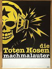 DIE TOTEN HOSEN 2009 ALBUM - TOUR  ++  orig.Concert Poster -- Konzert Plakat NEU