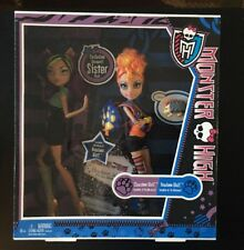 MONSTER HIGH WEREWOLF SISTERS CLAWDEEN & HOWLEEN WOLF DOLL 2-PACK SEALED/NEW