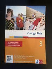 Orange Line 3 Standardaufgaben mit Audio-CD und Lehrersoftware Klett Klausuren