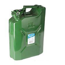 Kanister Benzin Gasöl Reservekanister 10 Liter aus Metall Blech Stahl