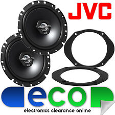 "Mazda 2 2008 - 2012 JVC 6.5"" 17cm 600 Watts Front Door Car Speakers Upgrade Kit"