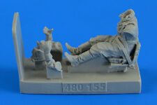 Aerobonus 480.155 - 1:48 Soviet Woman Gunner WWII with Seat for po-2 for Icm -
