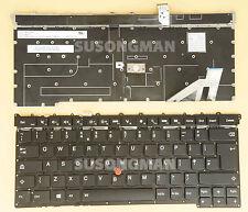 New For Lenovo ThinkPad Carbon X1 Gen 3 3rd 2015 Keyboard Backlit No Frame UK