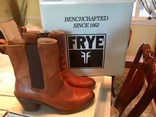 Frye Short Boots Women's size 10 M Cognac Soft Vintage Leather