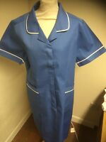 Ladies Tunic Dress Hospital Blue  NURSES / CARE HOME/ CLEANING / UNIFORM Athens