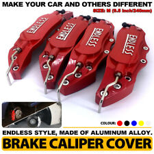 4Pcs 240mm Disc Brake Caliper ABS Red 3D ENDLESS Style Universal Car Truck Cover