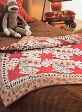 Monkey Around Quilt Pattern Pieced WS