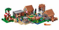 1622PCS My The Village Building Blocks Bricks Model Figures World Toys Set BN
