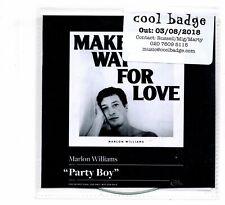 (JI495) Marlon Williams, Party Boy - 2018 DJ CD