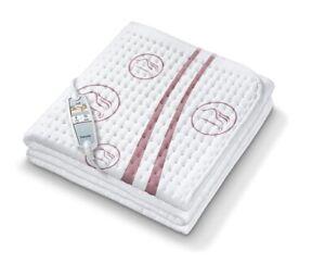 Beurer Ub 90 Komfort-Wärmeunterbett Personnes Allergiques Pour Rapide Lavable